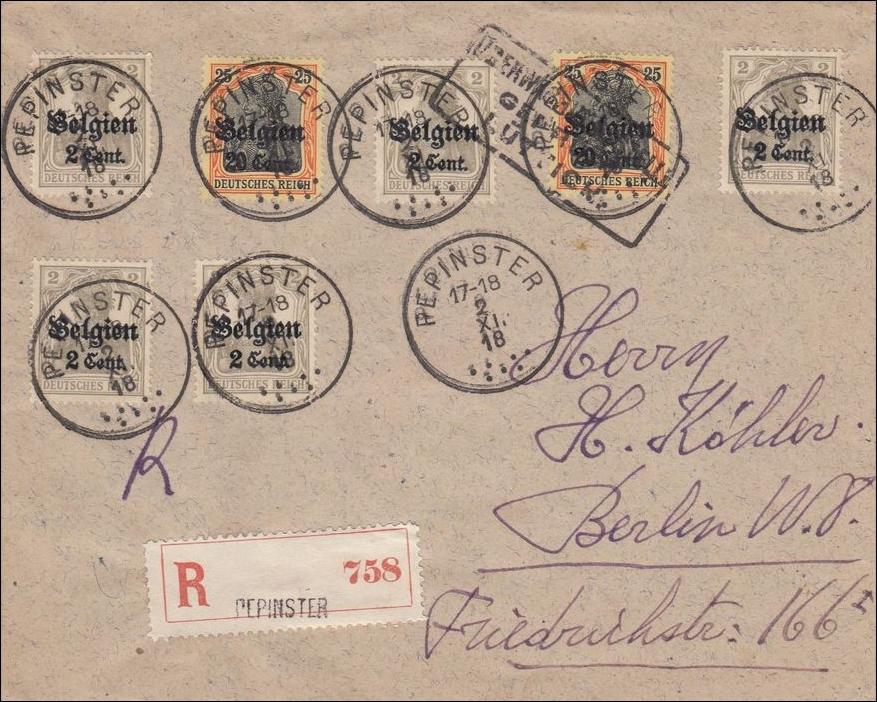 Brief Nach Belgien Kosten : Belgien brief aus pepinster nach berlin als